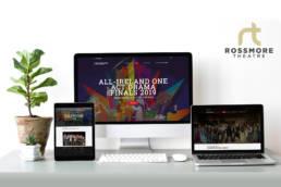 Rossmore-Theatre | Web Design | Homebird Design