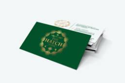 The Hatch | Business Card | Homebird Design