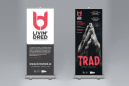 Livin' Dred | Pop Up Banner | Homebird Design