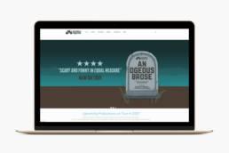 Big Guerilla Productions   Website Design   Homebird Design