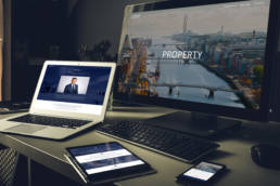 Pembroke Property Website | Homebird Design