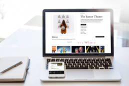 The Ramor Theatre | Website Design | Homebird Design